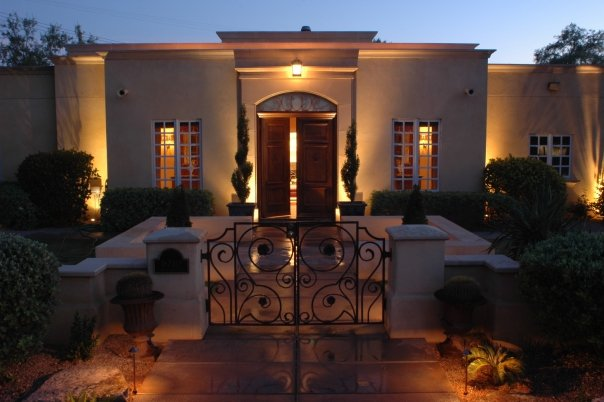 Landscape lighting makes your home so very inviting